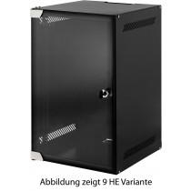 4 HE 10 Zoll Wandschrank - Vorderseite - B-Ware