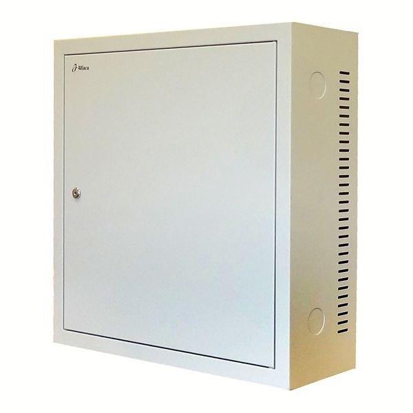 3 HE Serverschrank - 600mm tief - weiß