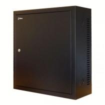 3 HE Serverschrank - 600mm tief - schwarz